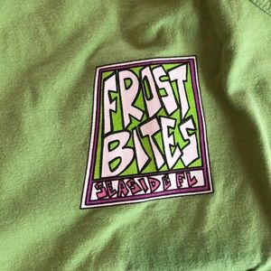 green frostbites tank top